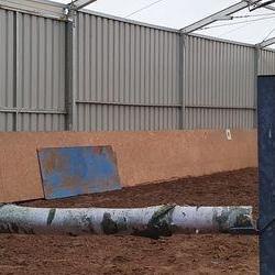 Ściana ze stali